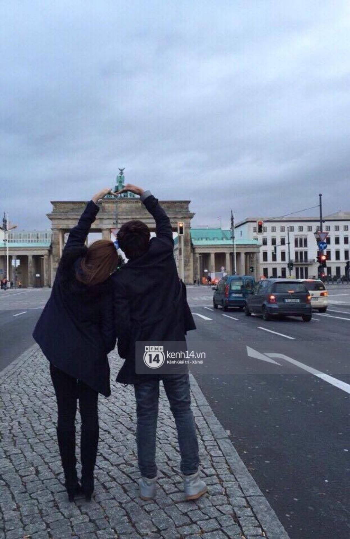 Độc quyền: Cặp đôi mới của Vbiz Hồ Quang Hiếu - Bảo Anh tiết lộ những hình ảnh hôn nhau đi khắp thế gian - Ảnh 3.