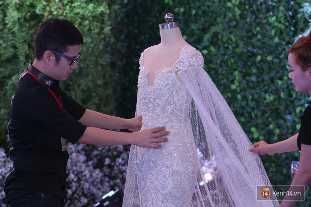 Chiếc váy cưới Trấn Thành đặt riêng cho công chúa nhỏ Hari Won đã được hé lộ! - Ảnh 5.