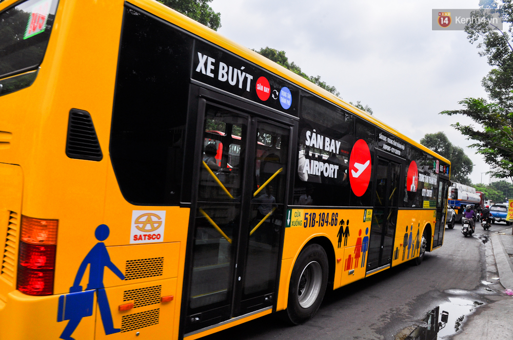 Trải nghiệm tuyến xe buýt 5 sao đầu tiên từ sân bay Tân Sơn Nhất vào trung tâm Sài Gòn - Ảnh 7.