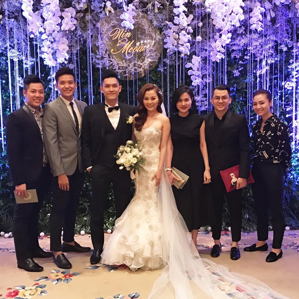 Quang Vinh vui mừng trong ngày cưới của cô em gái xinh đẹp như hoa - Ảnh 5.