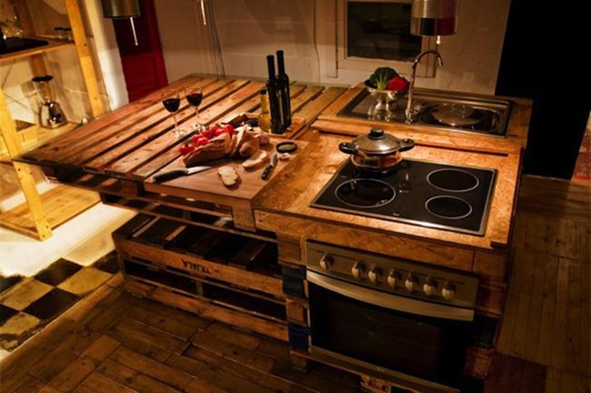 15 đồ nội thất tái chế từ gỗ thừa đem tới vẻ đẹp vintage cho ngôi nhà - Ảnh 1.