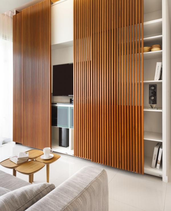 Muốn làm mới không gian nhà bạn, hãy thử trang trí bằng bình phong gỗ - Ảnh 2.