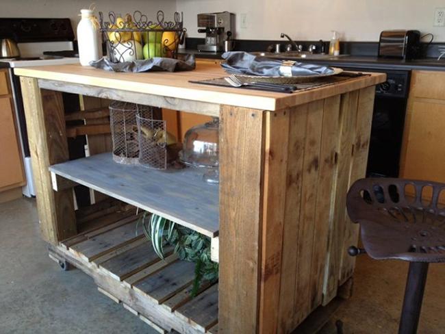 15 đồ nội thất tái chế từ gỗ thừa đem tới vẻ đẹp vintage cho ngôi nhà - Ảnh 11.