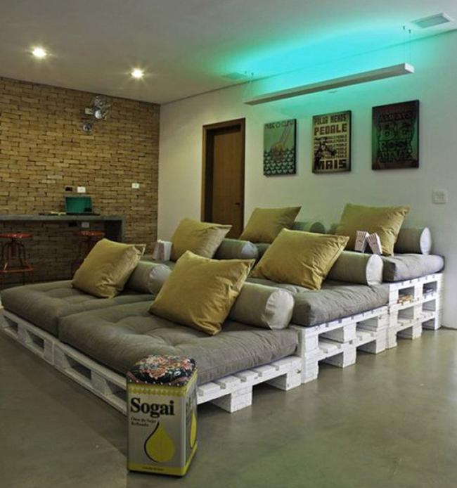 15 đồ nội thất tái chế từ gỗ thừa đem tới vẻ đẹp vintage cho ngôi nhà - Ảnh 12.