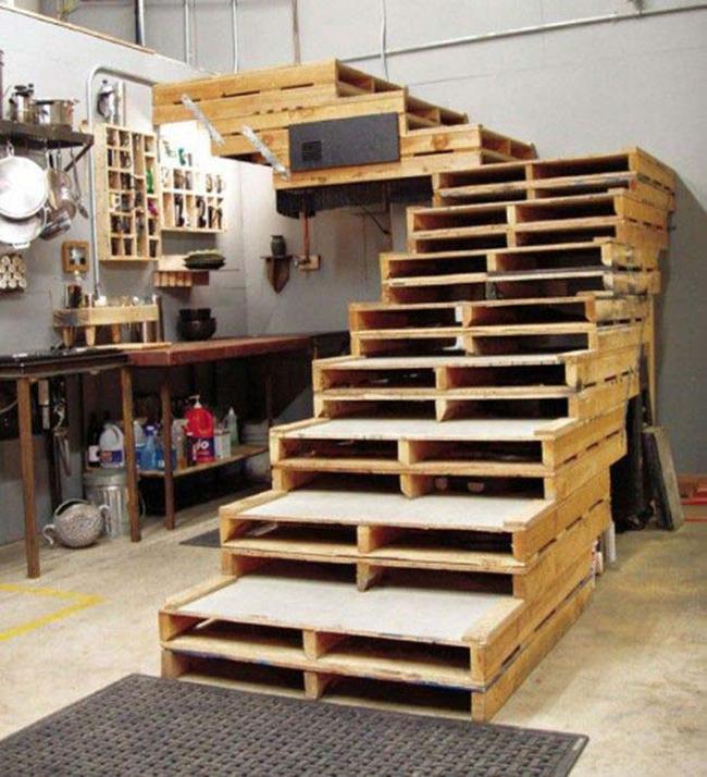 15 đồ nội thất tái chế từ gỗ thừa đem tới vẻ đẹp vintage cho ngôi nhà - Ảnh 15.