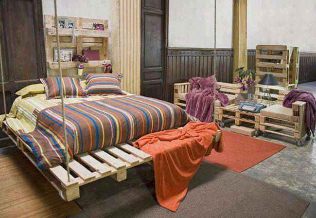 15 đồ nội thất tái chế từ gỗ thừa đem tới vẻ đẹp vintage cho ngôi nhà - Ảnh 2.
