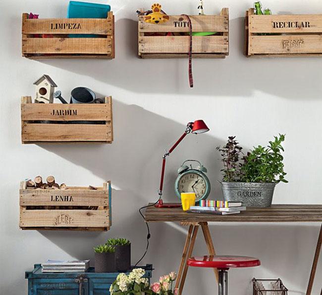 15 đồ nội thất tái chế từ gỗ thừa đem tới vẻ đẹp vintage cho ngôi nhà - Ảnh 4.