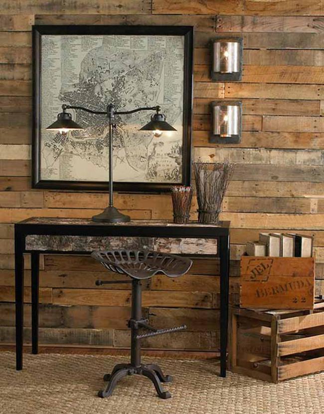15 đồ nội thất tái chế từ gỗ thừa đem tới vẻ đẹp vintage cho ngôi nhà - Ảnh 6.