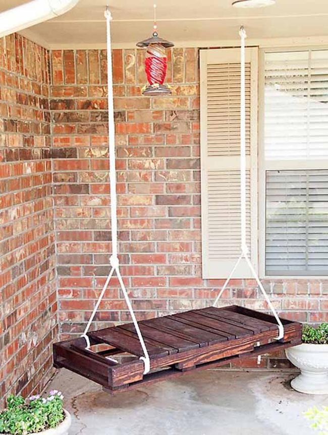 15 đồ nội thất tái chế từ gỗ thừa đem tới vẻ đẹp vintage cho ngôi nhà - Ảnh 7.