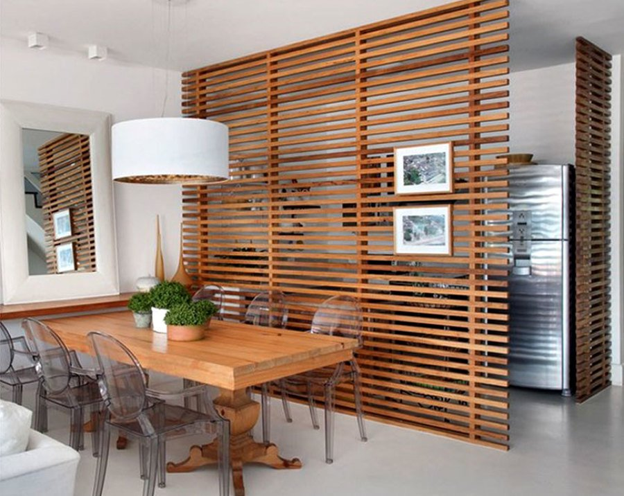Muốn làm mới không gian nhà bạn, hãy thử trang trí bằng bình phong gỗ - Ảnh 11.