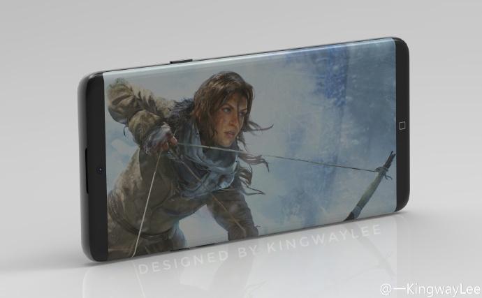 Ra lò ý tưởng Galaxy S8 cực đẹp, iPhone mà không thay đổi thì sẽ ế dài - Ảnh 2.