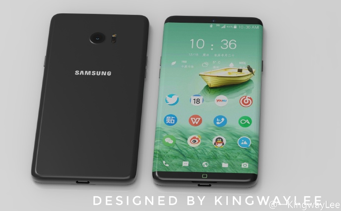 Ra lò ý tưởng Galaxy S8 cực đẹp, iPhone mà không thay đổi thì sẽ ế dài - Ảnh 1.