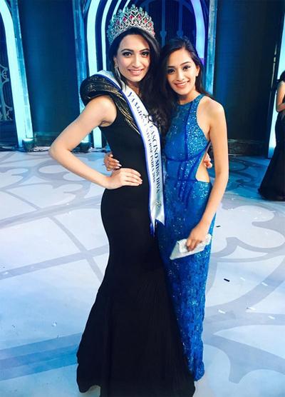 Nhan sắc mặn mà như minh tinh điện ảnh của Hoa hậu Hoàn vũ Ấn Độ 2016 - Ảnh 3.