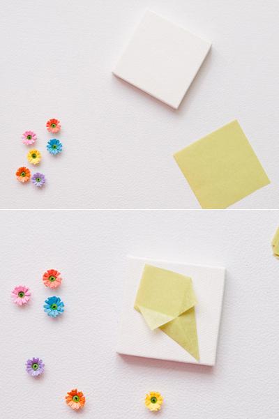 Nhặt nhạnh giấy màu làm bó hoa trang trí hộp quà siêu lãng mạn - Ảnh 8.