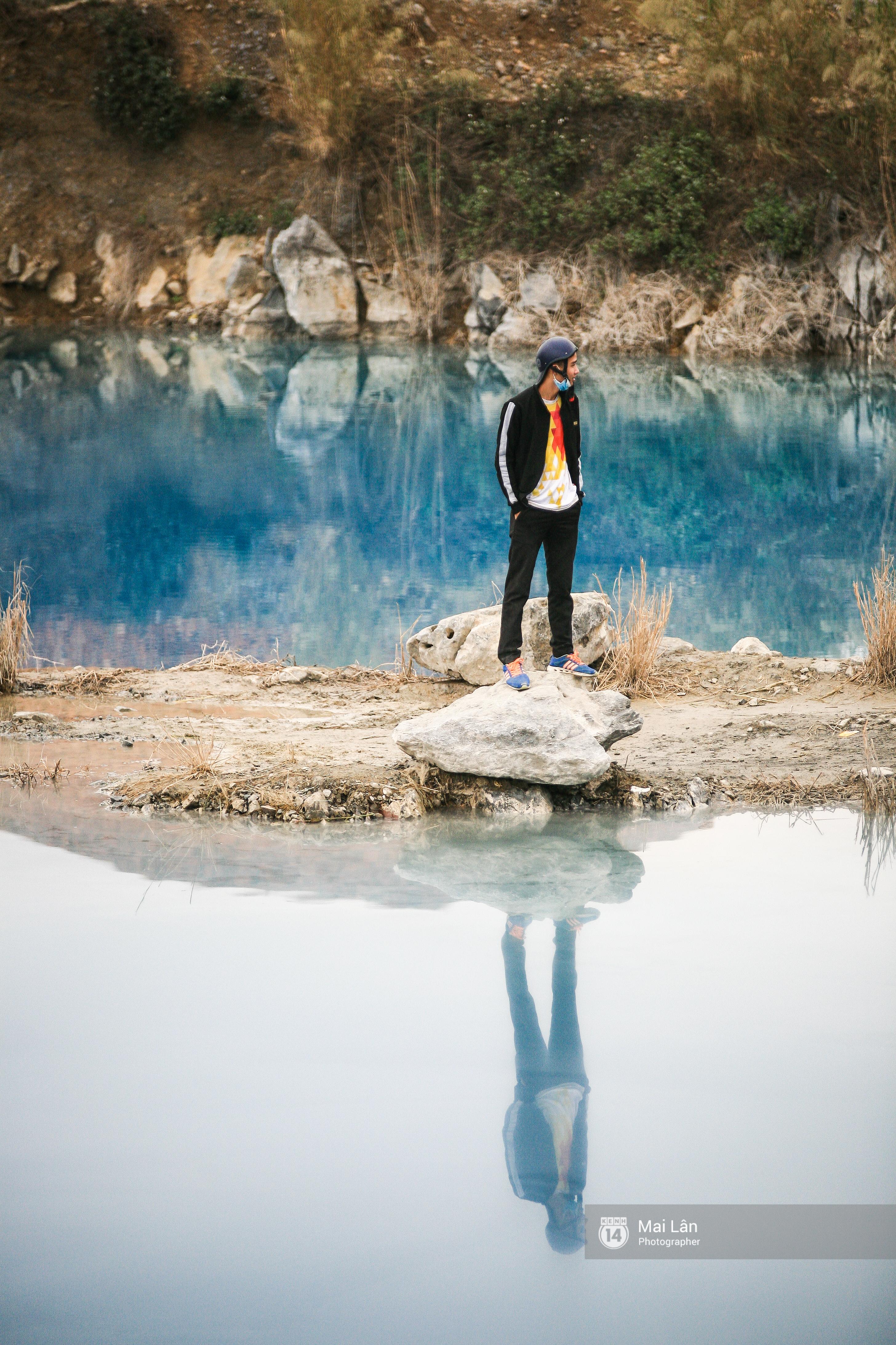 Hồ nước xanh ngắt kì lạ ở Hải Phòng: Địa điểm mới đang khiến giới trẻ xôn xao - Ảnh 10.