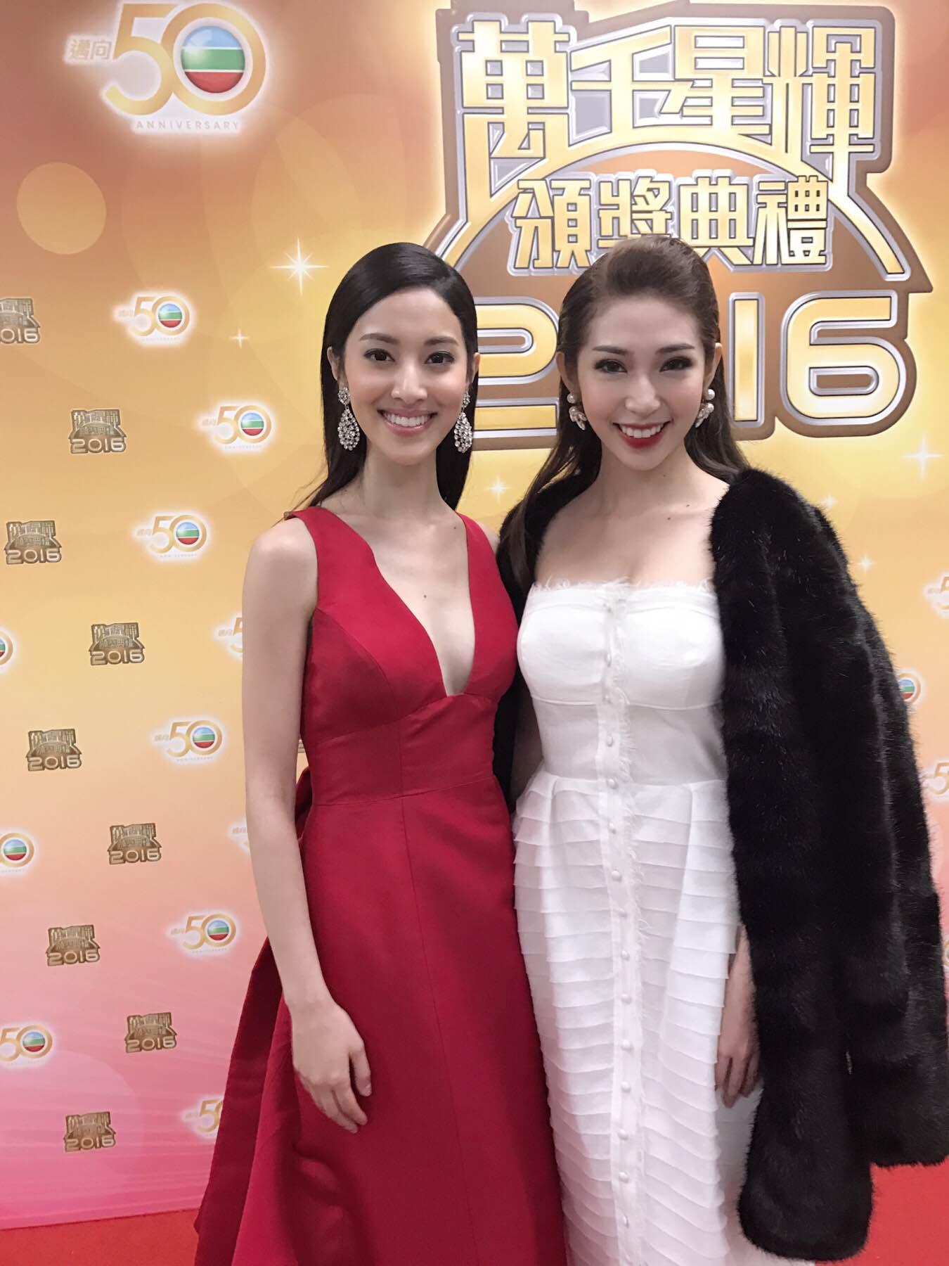 Khổng Tú Quỳnh tham dự lễ trao giải TVB, đọ dáng cùng Hoa hậu Hồng Kông - Ảnh 4.