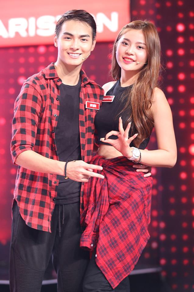 Mai Ngô lại... bĩu môi, Chúng Huyền Thanh ôm hôn bạn trai trên truyền hình - Ảnh 7.