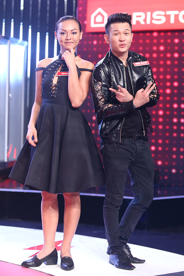 Mai Ngô lại... bĩu môi, Chúng Huyền Thanh ôm hôn bạn trai trên truyền hình - Ảnh 13.