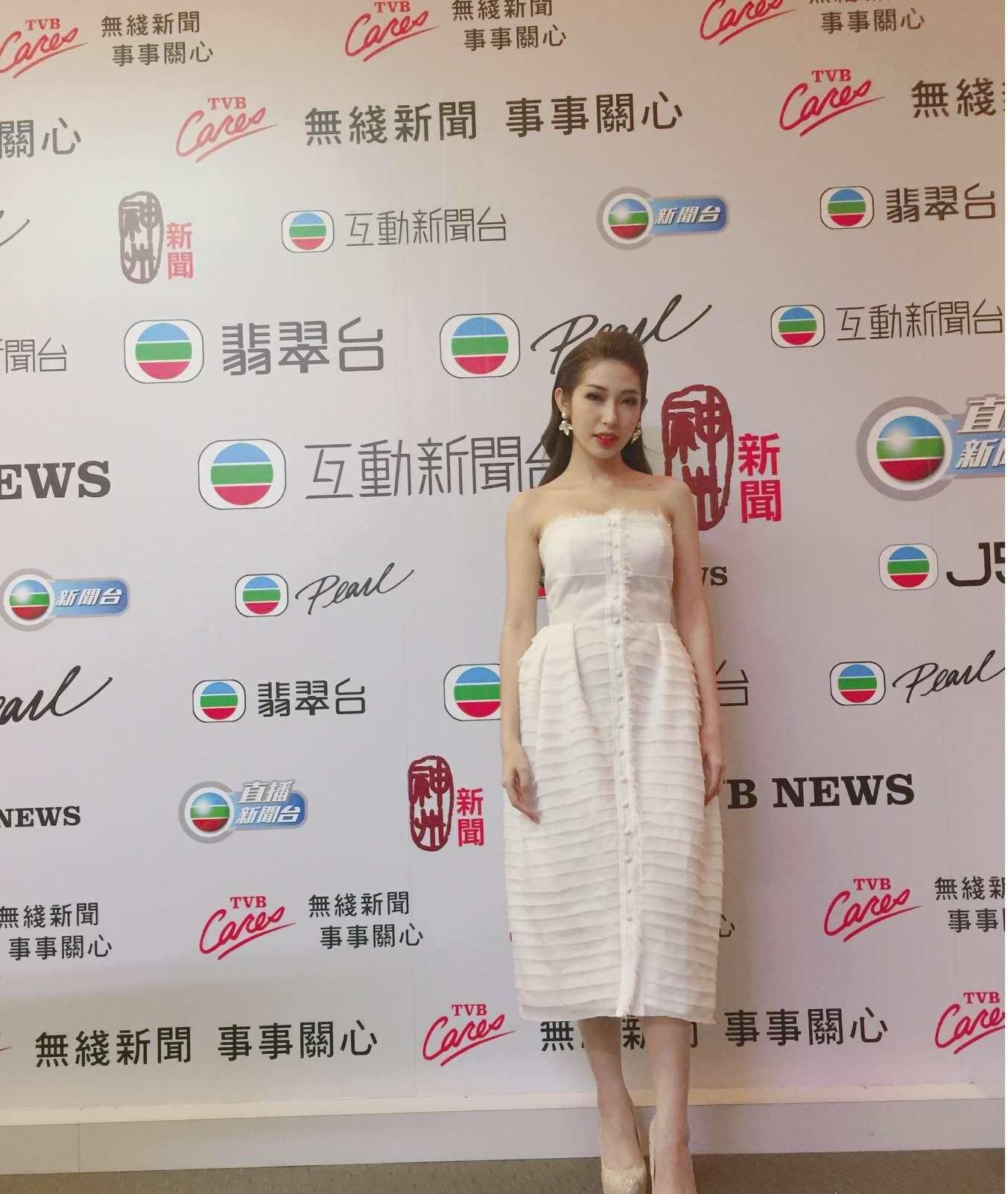 Khổng Tú Quỳnh tham dự lễ trao giải TVB, đọ dáng cùng Hoa hậu Hồng Kông - Ảnh 3.