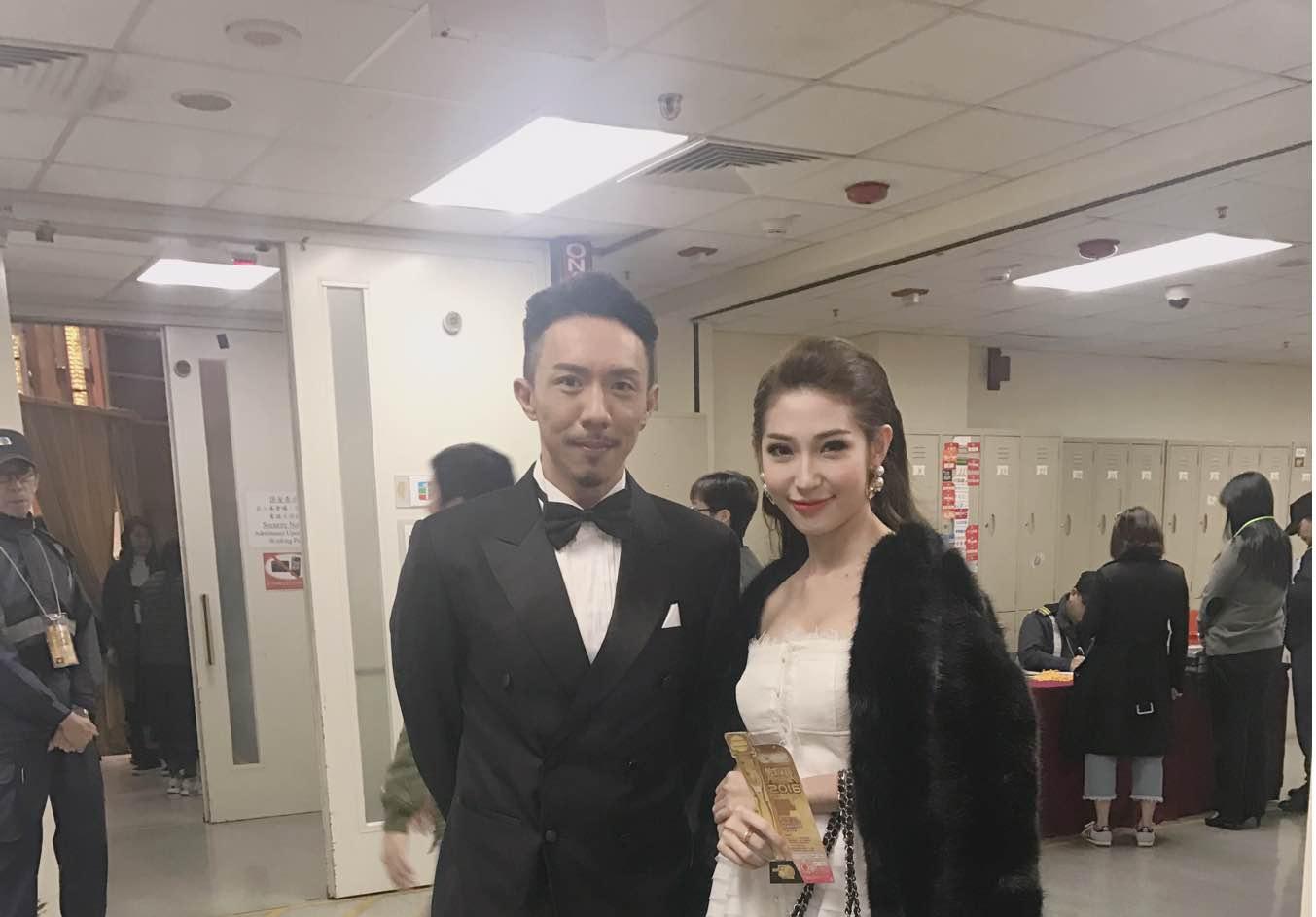 Khổng Tú Quỳnh tham dự lễ trao giải TVB, đọ dáng cùng Hoa hậu Hồng Kông - Ảnh 8.