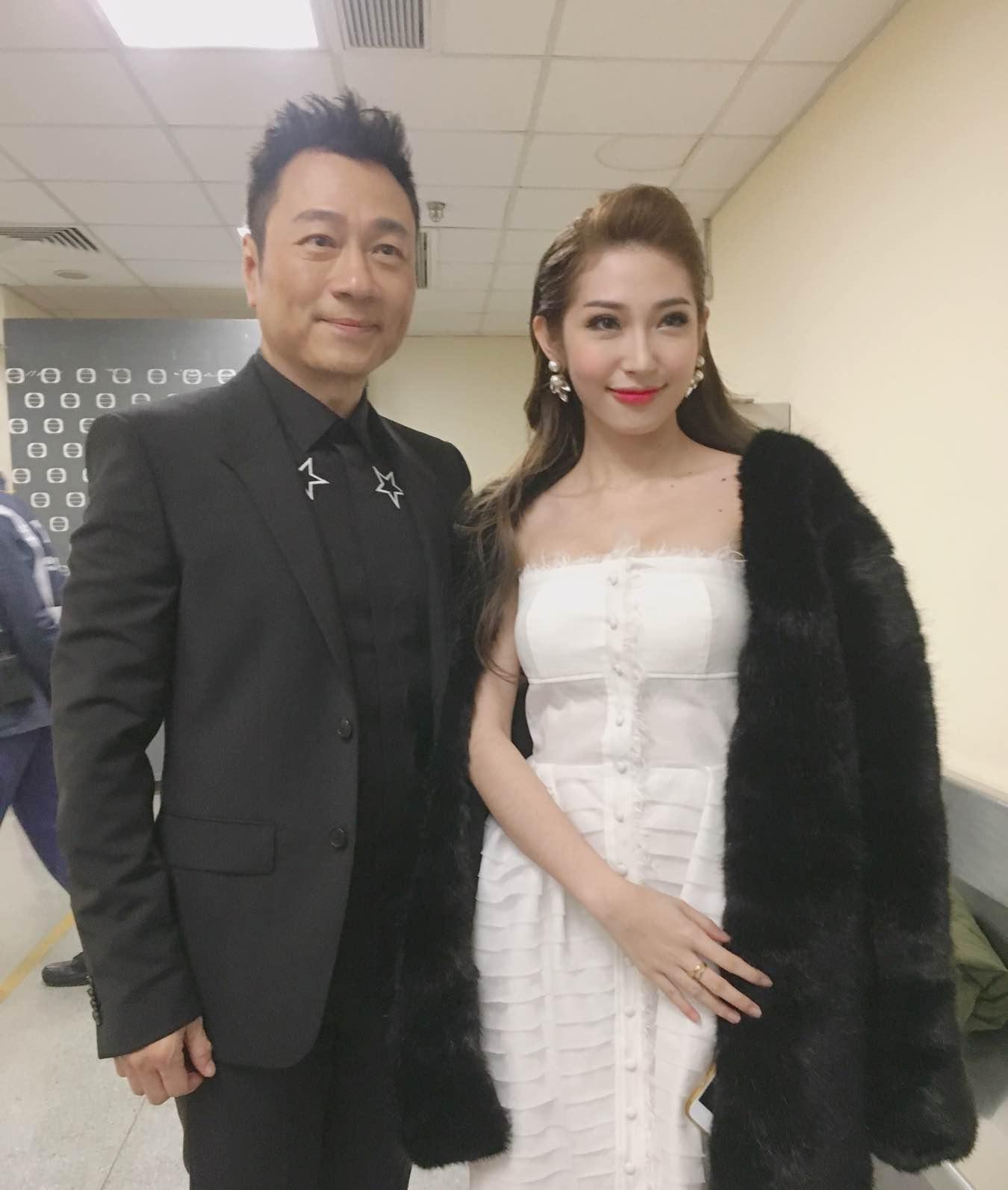 Khổng Tú Quỳnh tham dự lễ trao giải TVB, đọ dáng cùng Hoa hậu Hồng Kông - Ảnh 6.