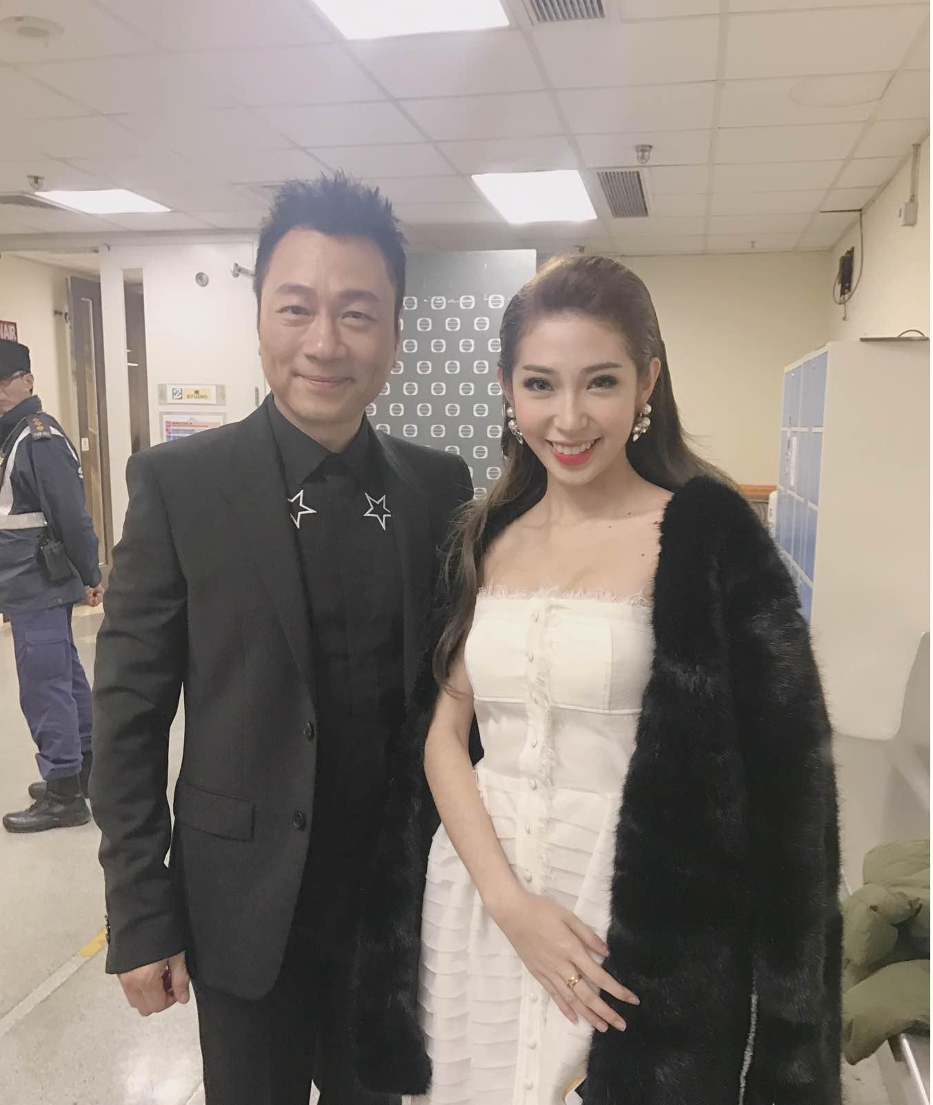 Khổng Tú Quỳnh tham dự lễ trao giải TVB, đọ dáng cùng Hoa hậu Hồng Kông - Ảnh 7.