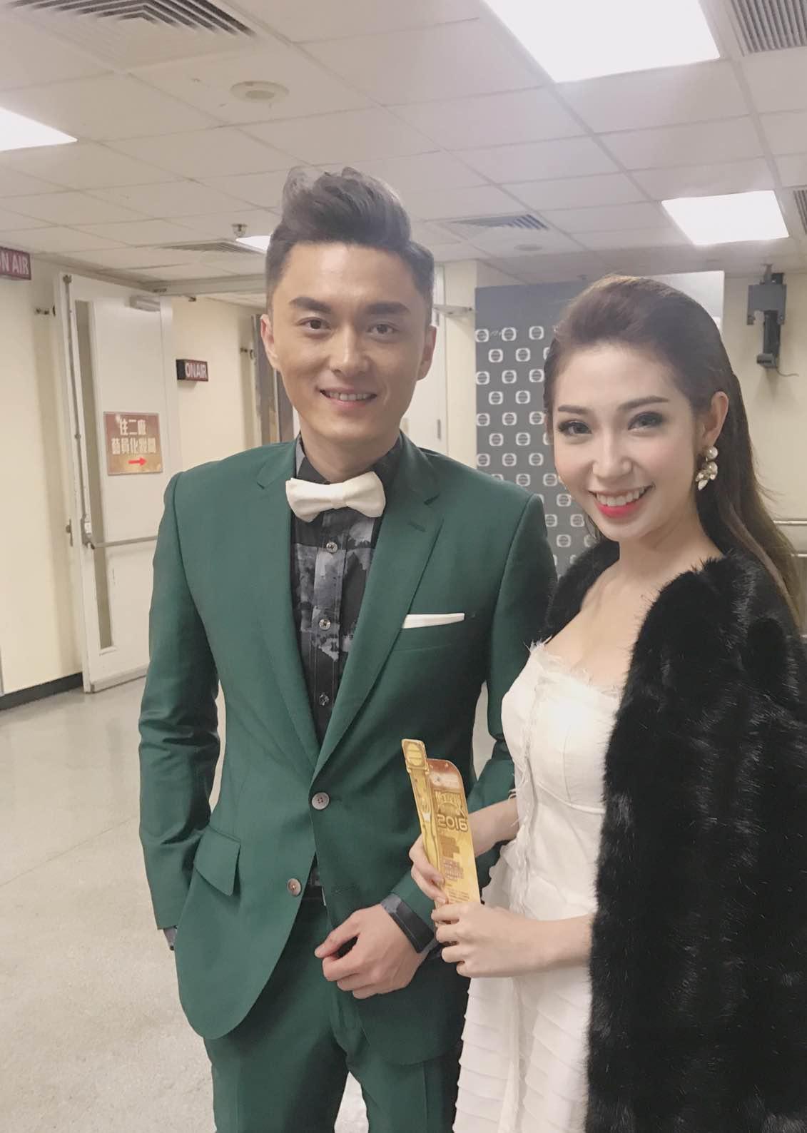 Khổng Tú Quỳnh tham dự lễ trao giải TVB, đọ dáng cùng Hoa hậu Hồng Kông - Ảnh 9.