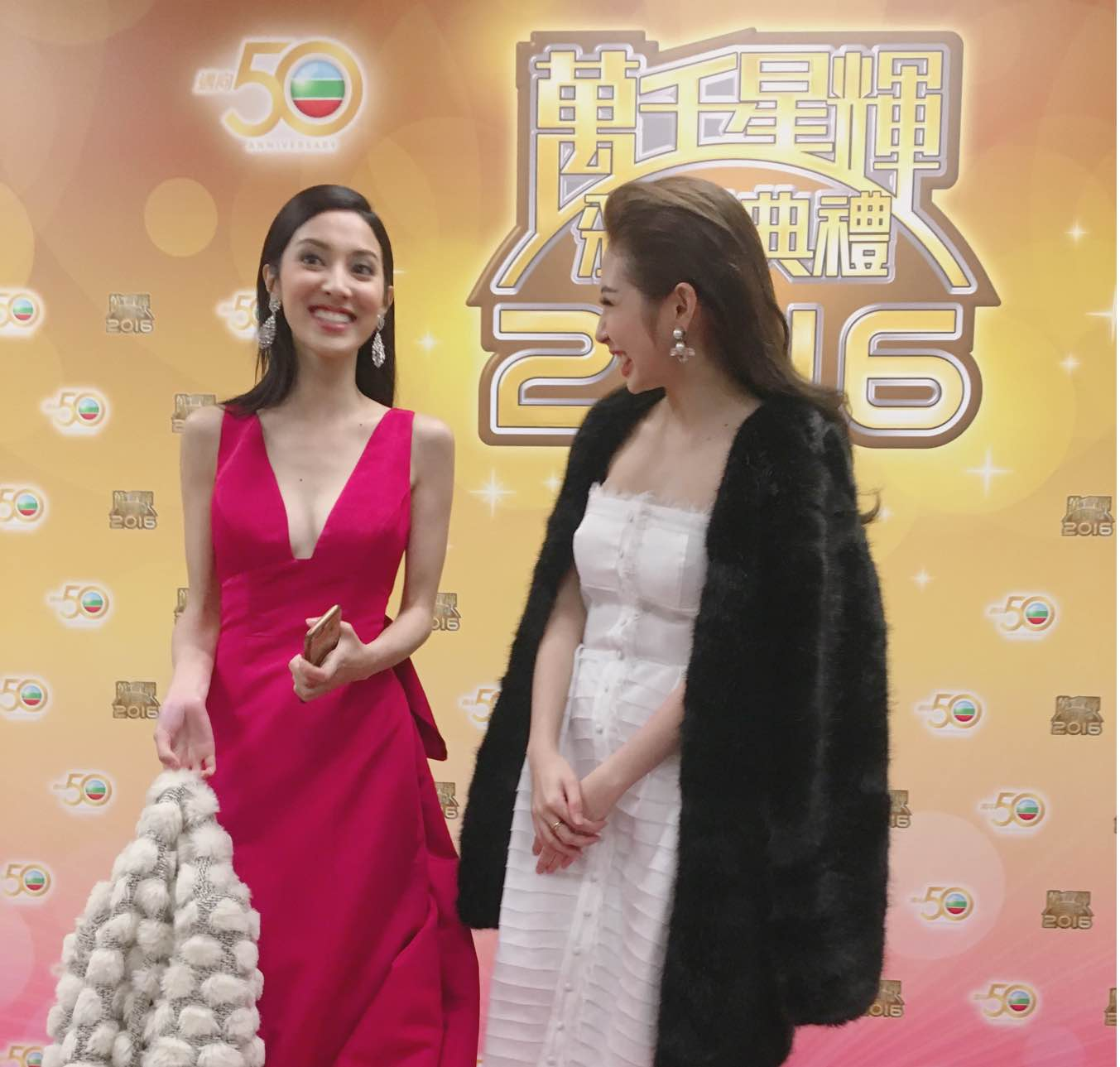 Khổng Tú Quỳnh tham dự lễ trao giải TVB, đọ dáng cùng Hoa hậu Hồng Kông - Ảnh 5.