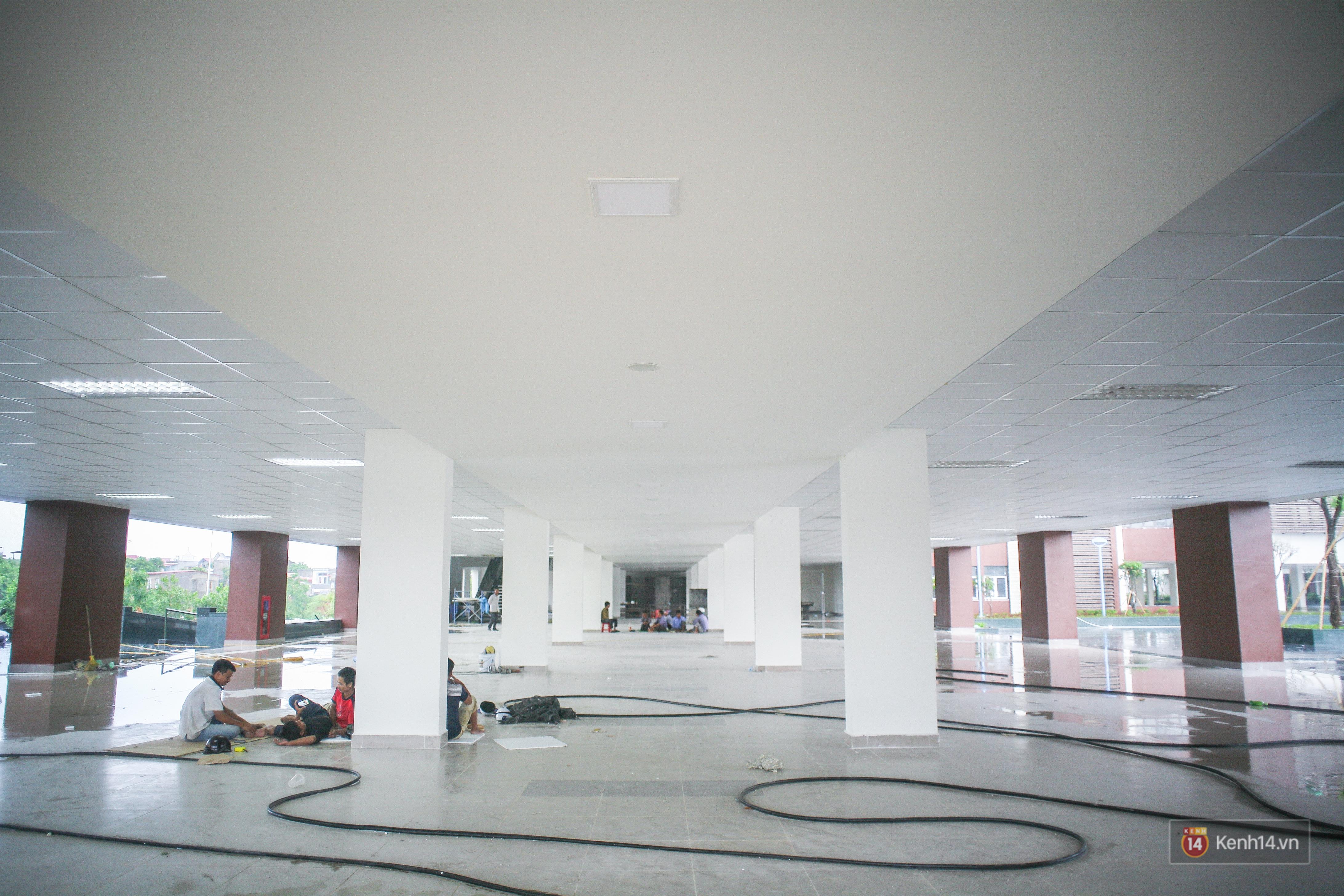 Cận cảnh ngôi trường chuyên 600 tỉ của Bắc Ninh: Đẹp, sang và Tây hết nấc! - Ảnh 14.
