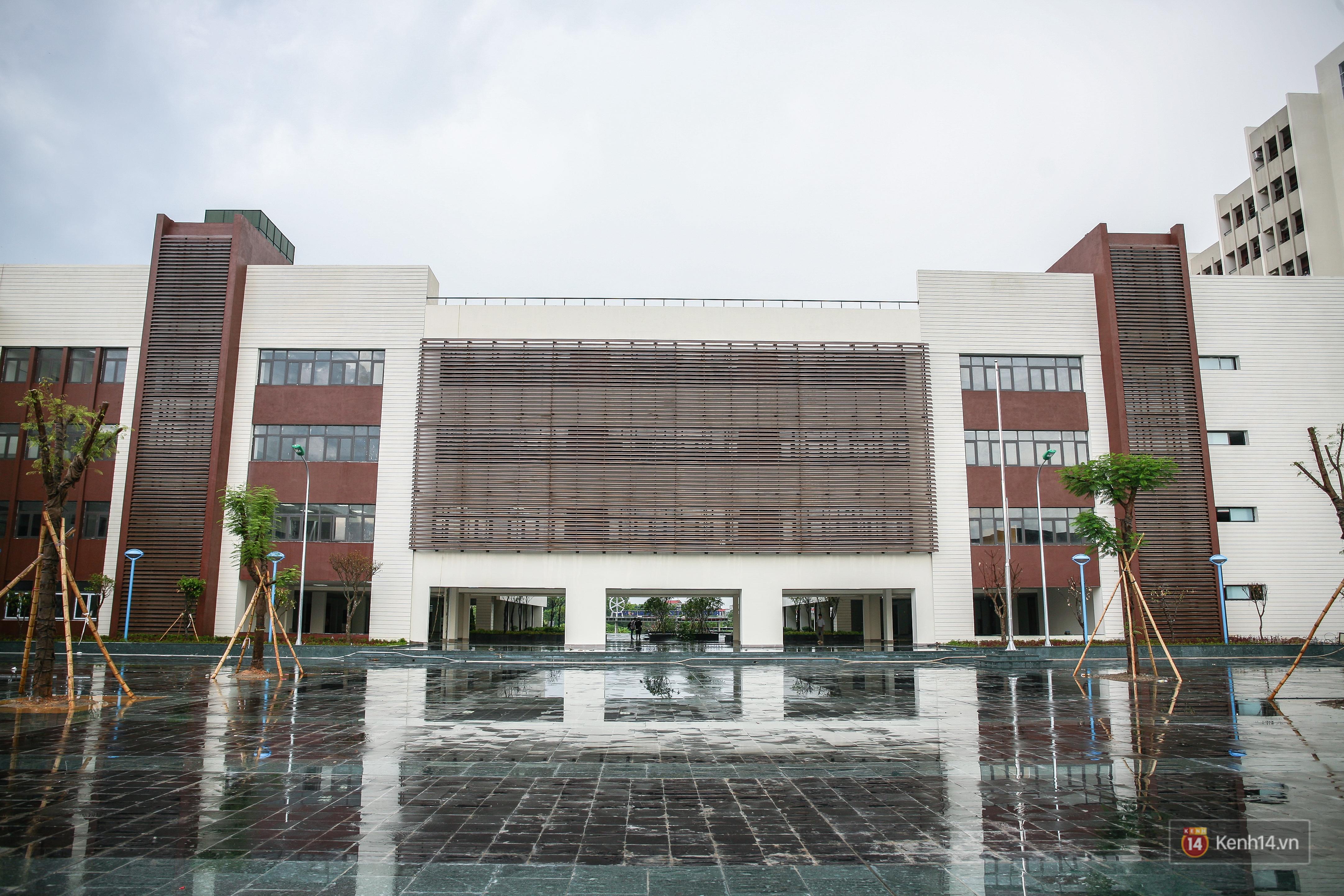 Cận cảnh ngôi trường chuyên 600 tỉ của Bắc Ninh: Đẹp, sang và Tây hết nấc! - Ảnh 5.