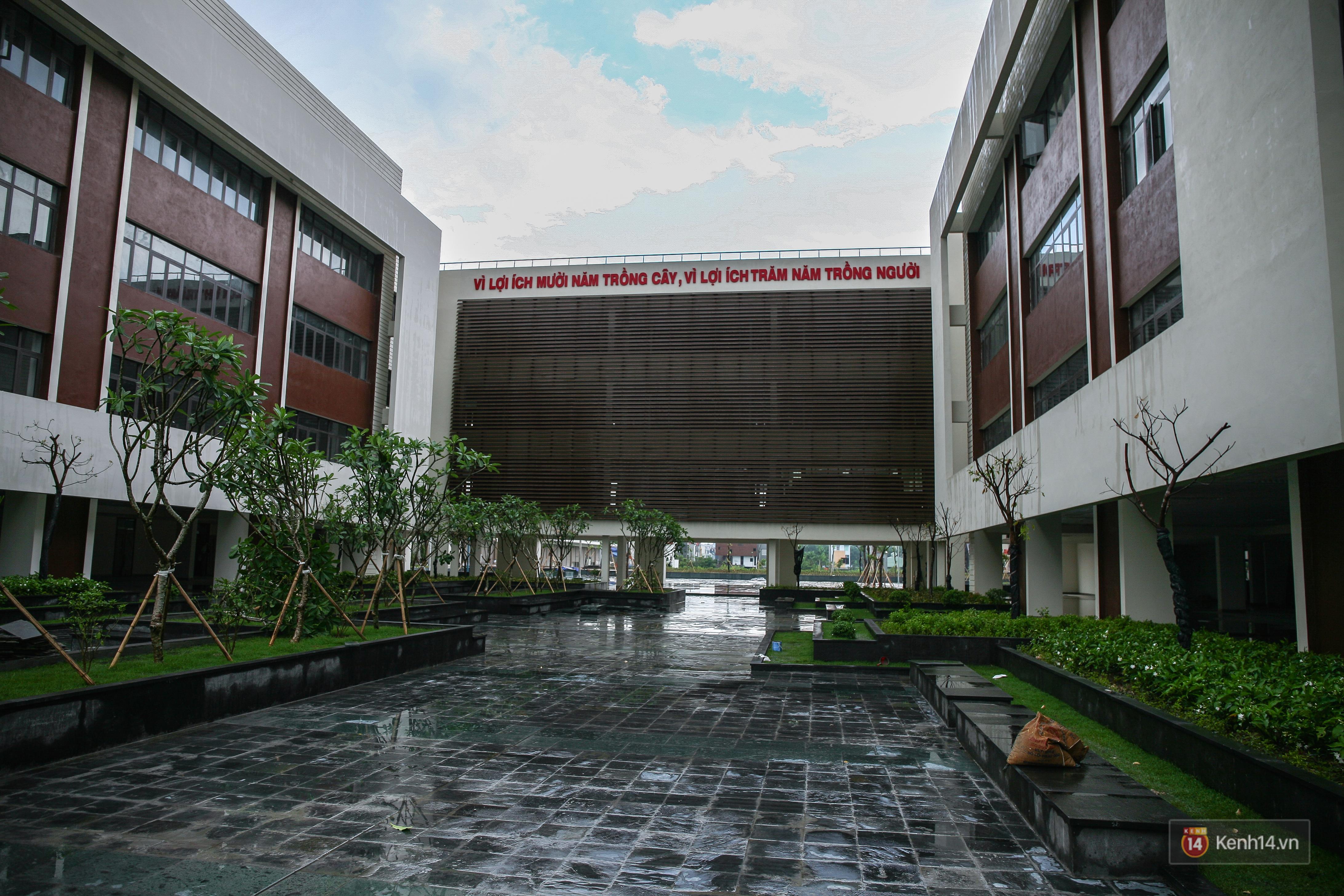 Cận cảnh ngôi trường chuyên 600 tỉ của Bắc Ninh: Đẹp, sang và Tây hết nấc! - Ảnh 6.