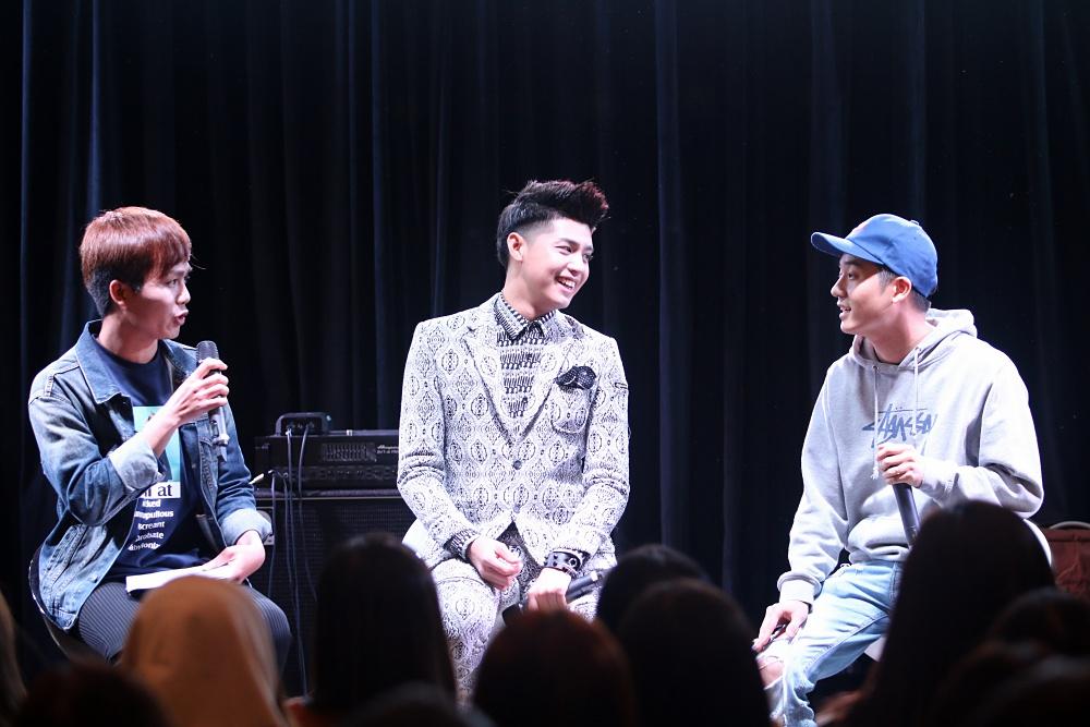 Là ca sĩ Việt đầu tiên tổ chức họp fan ở Hàn, Noo Phước Thịnh được hàng trăm khán giả vây kín ủng hộ - Ảnh 9.