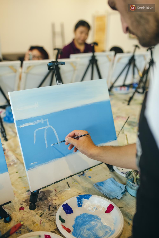 Có gì ở lớp học vẽ thư giãn đang cực hot tại Hà Nội và Sài Gòn thời gian gần đây? - Ảnh 10.