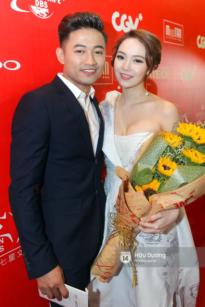 Minh Hằng xinh đẹp, khéo khoe vòng một gợi cảm khi ra mắt phim điện ảnh mới - Ảnh 4.
