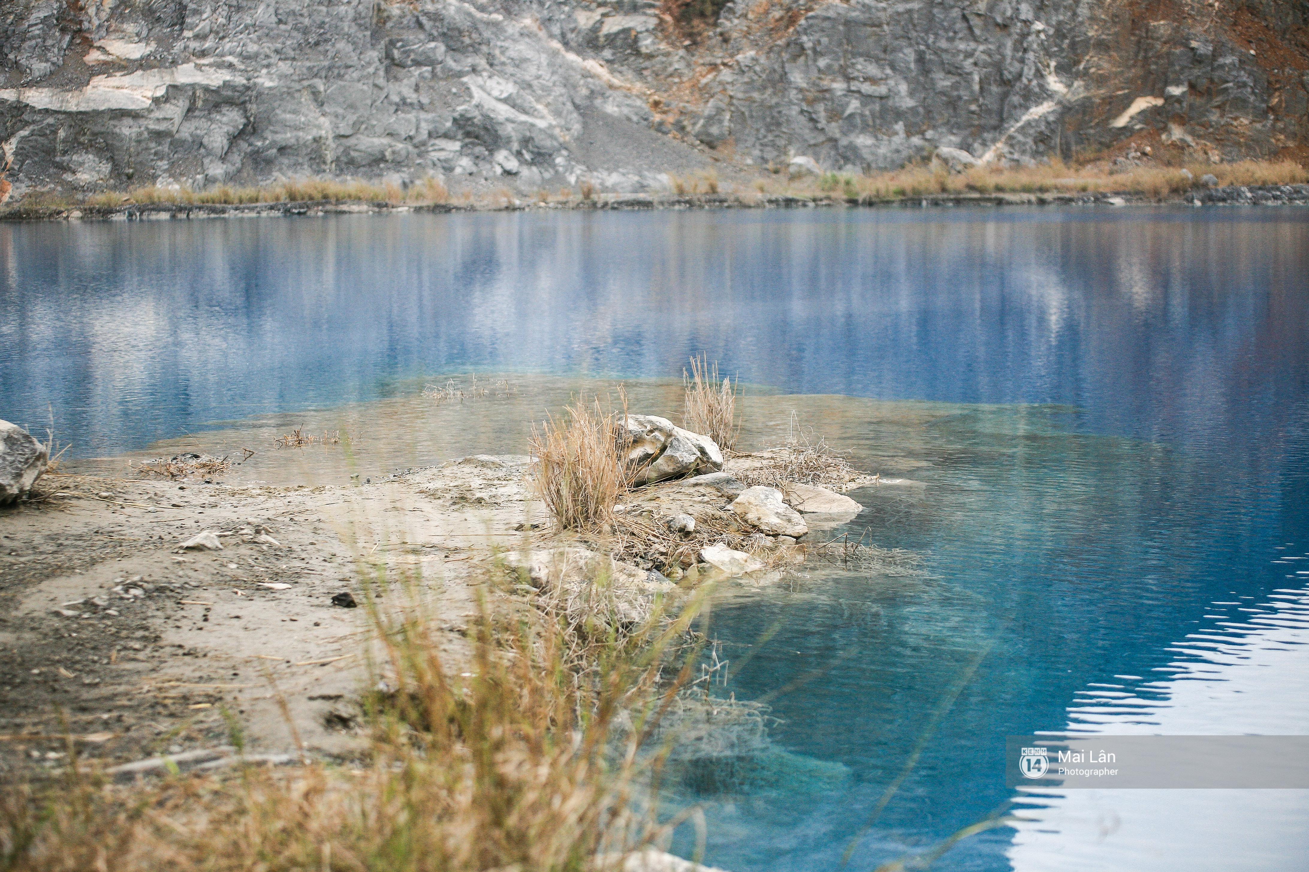 Hồ nước xanh ngắt kì lạ ở Hải Phòng: Địa điểm mới đang khiến giới trẻ xôn xao - Ảnh 6.
