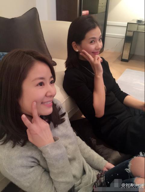 Lâm Tâm Như và Lưu Đào đọ vẻ đẹp trẻ trung bất chấp thời gian - Ảnh 4.