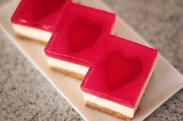 Học làm cheesecake thạch trái tim đem tỏ tình ngày Valentine - Ảnh 15.