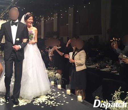 Ngắm loạt ảnh cô dâu Kim Ha Neul đẹp lung linh trong ngày cưới - Ảnh 9.