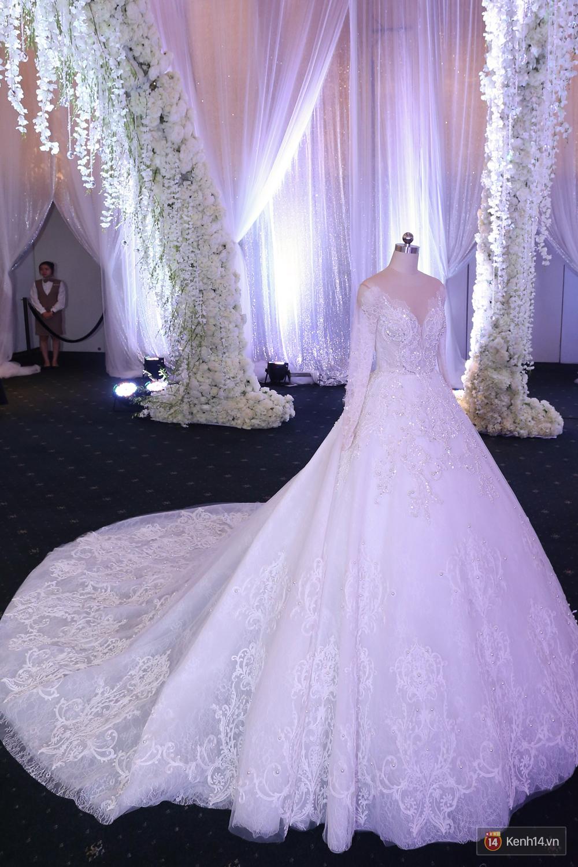 Chiếc váy cưới Trấn Thành đặt riêng cho công chúa nhỏ Hari Won đã được hé lộ! - Ảnh 7.