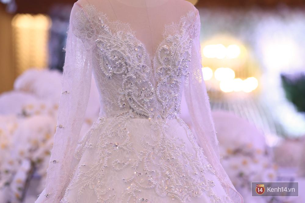 Chiếc váy cưới Trấn Thành đặt riêng cho công chúa nhỏ Hari Won đã được hé lộ! - Ảnh 4.