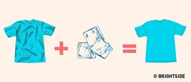 8 mẹo vặt loại bỏ nếp nhăn trên quần áo mà không cần bàn là - Ảnh 8.