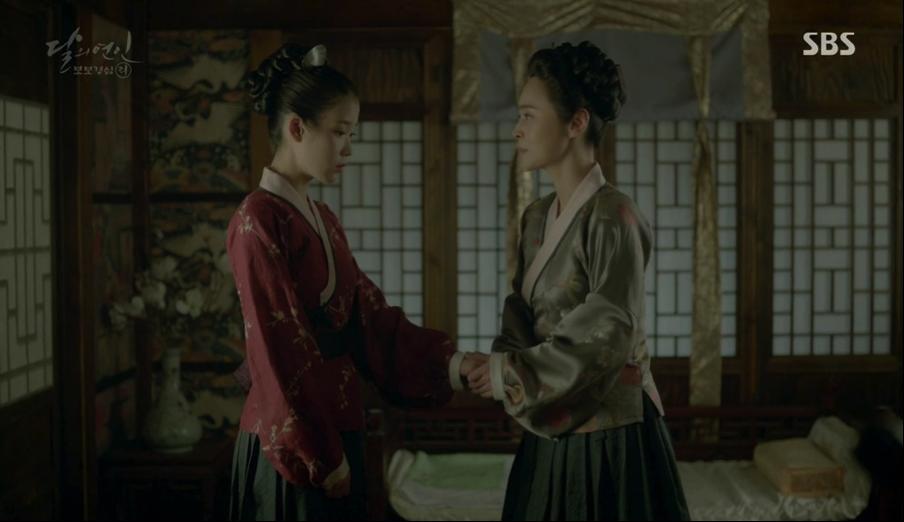 Moon Lovers: Thượng cung Oh cuối cùng đã có thể bảo vệ được đứa trẻ của mình - Ảnh 9.