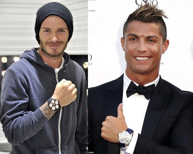 Công Vinh chơi đồng hồ không kém Beckham và Ronaldo - Ảnh 1.