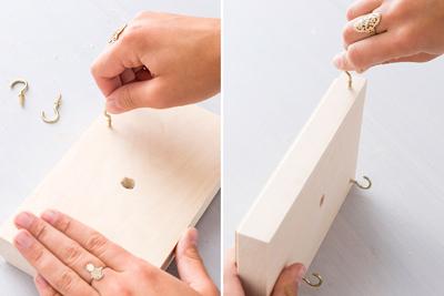 Nghịch gỗ chế khung đa năng: Vừa sạc điện thoại, vừa treo chìa khoá - Ảnh 4.