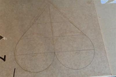 Tạo điểm nhấn trang trí tường với kệ treo tường trái tim sắc màu - Ảnh 3.