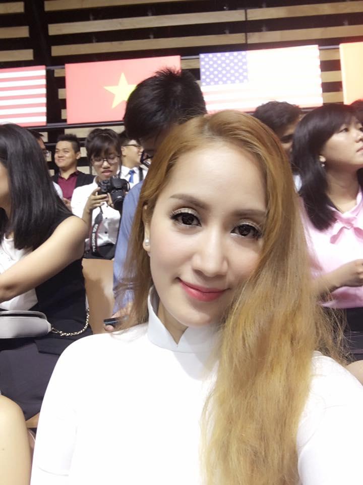 Khánh Thi, Suboi hào hứng tham gia buổi nói chuyện của Tổng thống Obama - Ảnh 1.