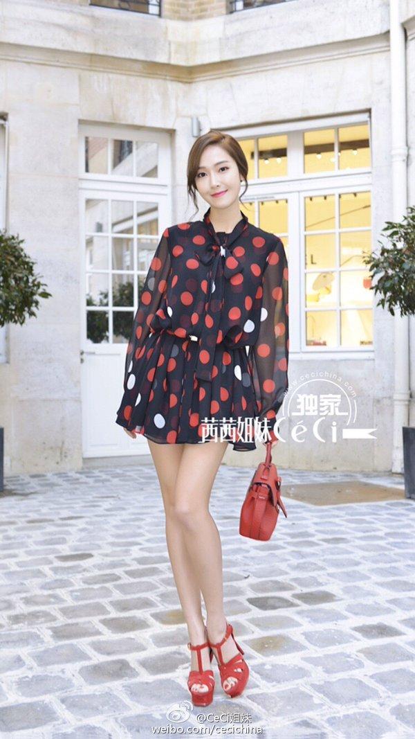 Jessica Ch Y S Li N T C T I Tu N L Th I Trang Paris Ho Ng Ku Khoe Nh D Show Barbara Bui