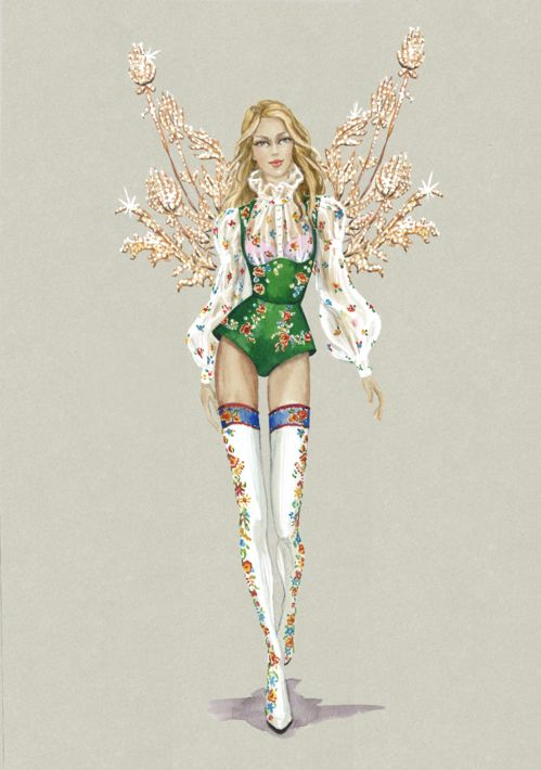 Victorias Secret Show năm nay sẽ tiến công đến Paris, hé lộ thiết kế mới toanh! - Ảnh 8.