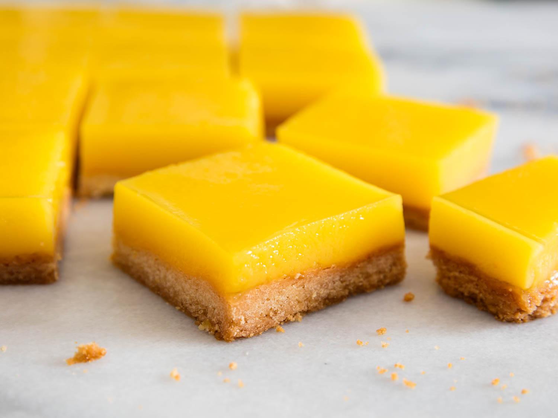 Lemon bars – bánh chanh vàng óng như ánh mặt trời - Ảnh 1.