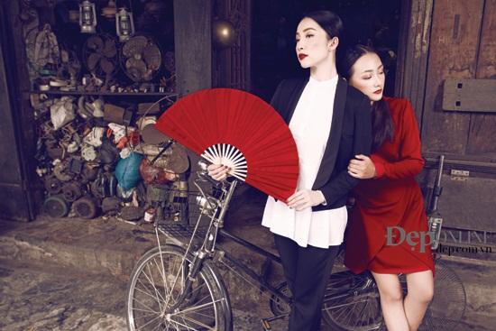 Sở hữu dung mạo mỹ nhân, Linh Khiếu hiện đang đắt show chụp hình tạp chí hơn cả chị mình! - Ảnh 15.